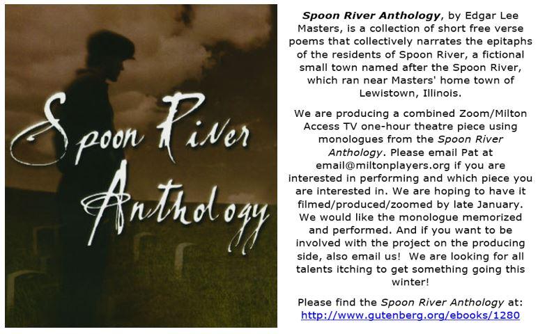 Spoon River Announcement